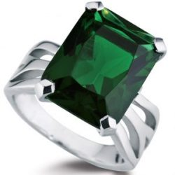 green-emerald-shaped-gemstone-ring-white-gold